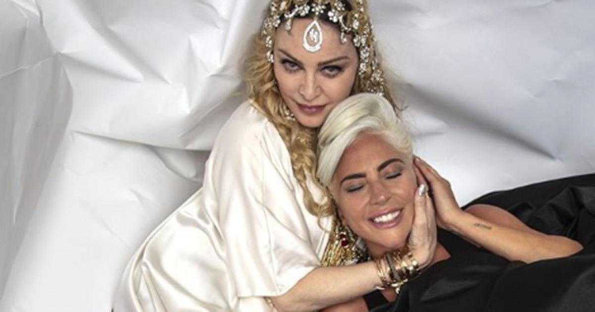 Pace fatta tra Madonna e Lady Gaga: lo scatto immortala il momento