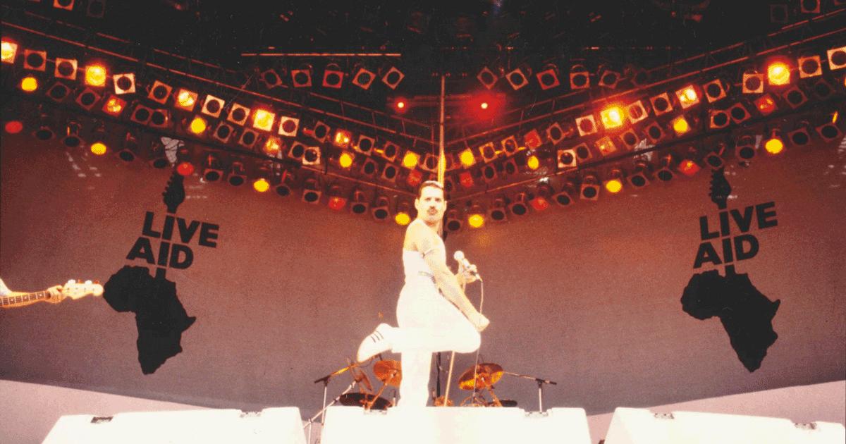 Ecco come Bob Geldof convinse Freddie Mercury a salire sul palco del Live Aid