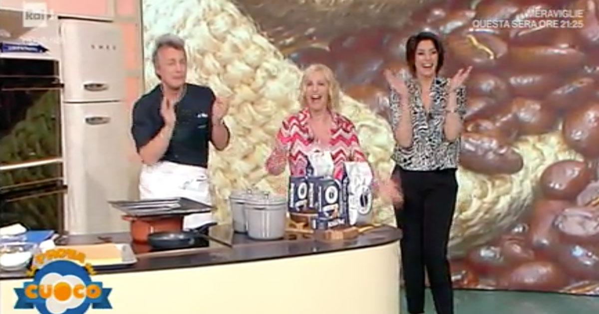 Antonella Clerici torna a sorpresa a 'La prova del cuoco', la reazione di Elisa Isoardi è tutta da ridere