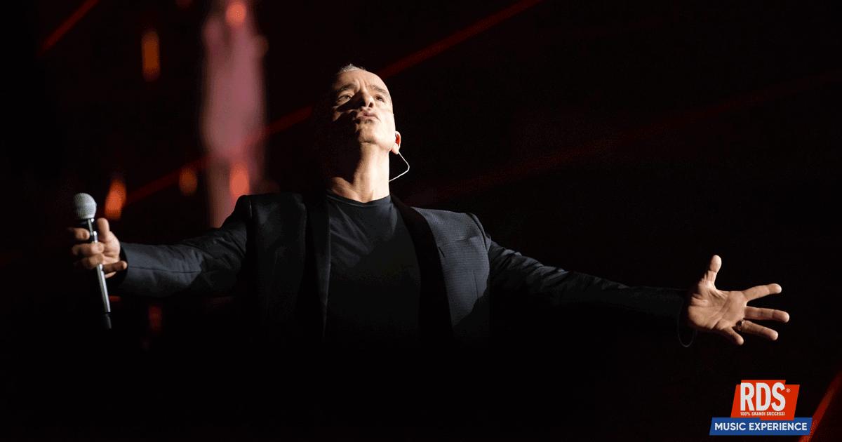 Eros Ramazzotti: tutte le foto e i video del concerto di Roma