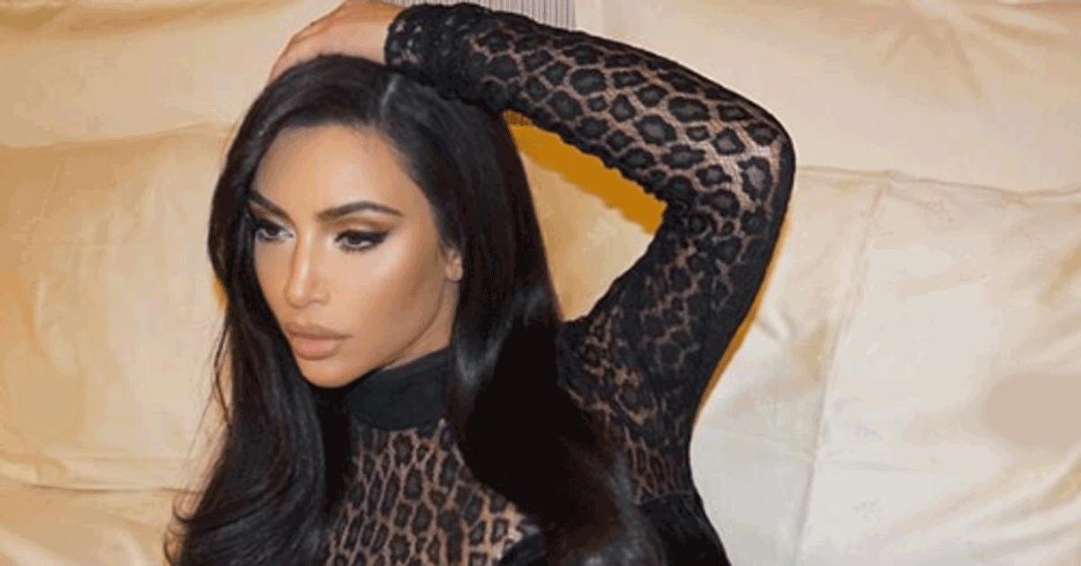 La pantera Kim Kardashian: il completino lascia ben poco all'immaginazione