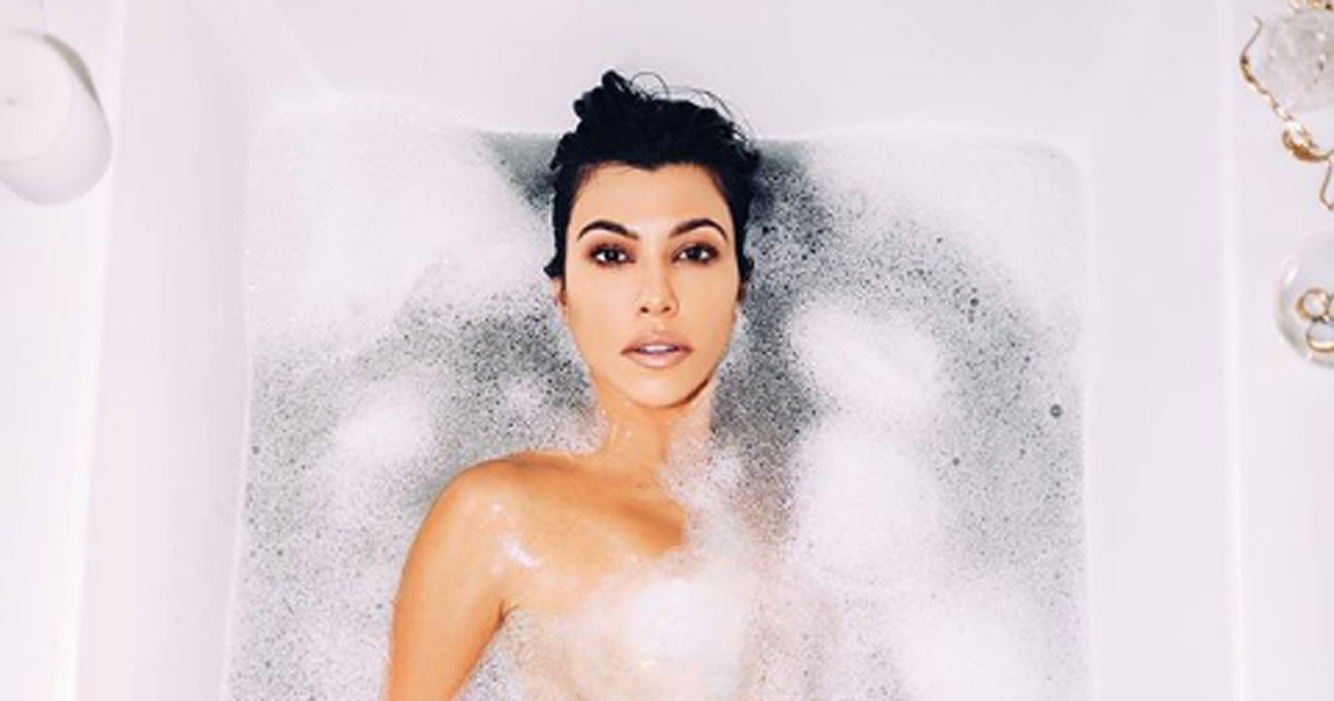Kourtney Kardashian: l'errore con Photoshop diventa un boomerang