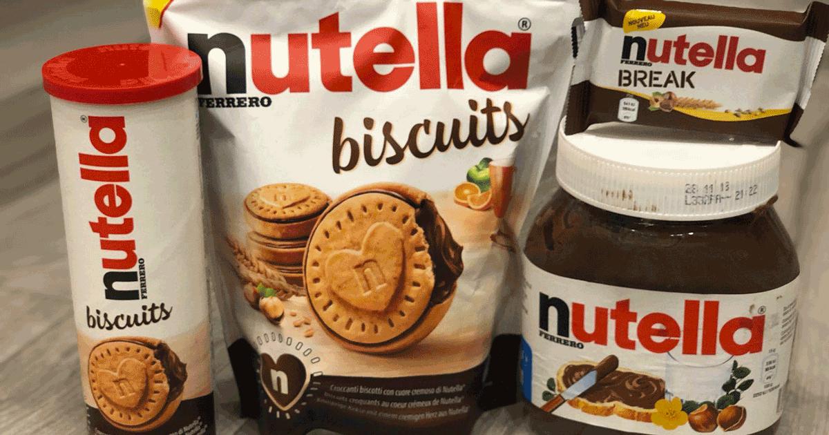 La Ferrero lancia i suoi biscotti farciti alla Nutella