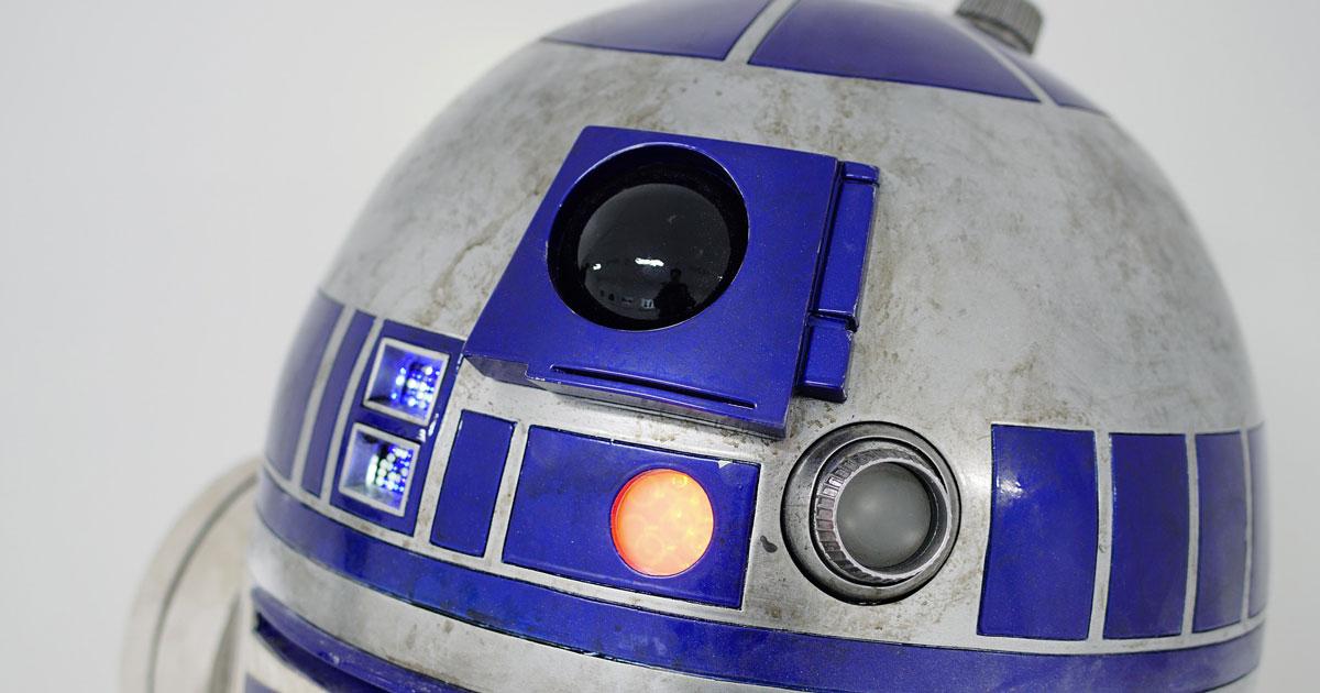 Star Wars: hanno ridipinto un osservatorio universitario come il mitico R2-D2
