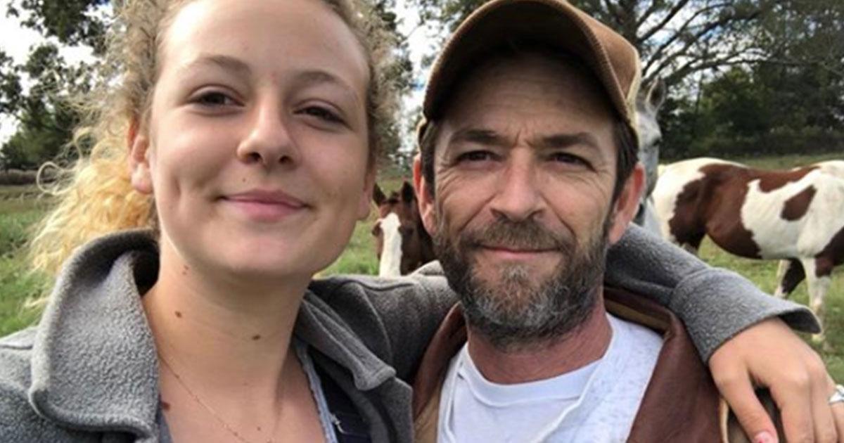Luke Perry: il messaggio della figlia commuove tutti
