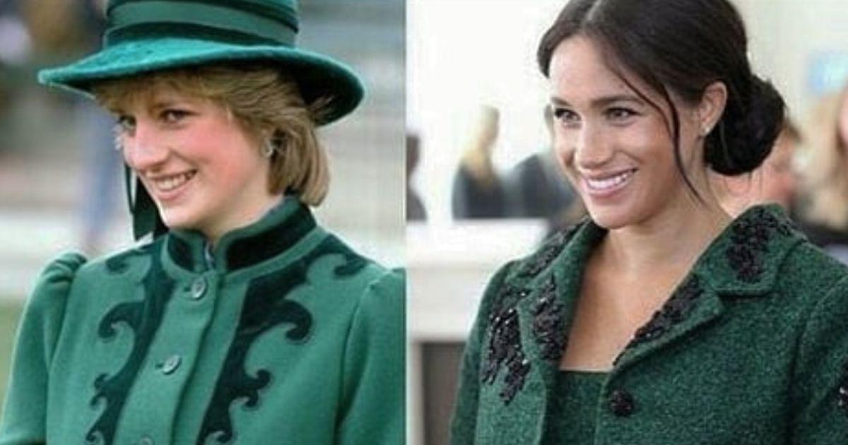 Meghan Markle: il cappotto verde è un omaggio a Lady D