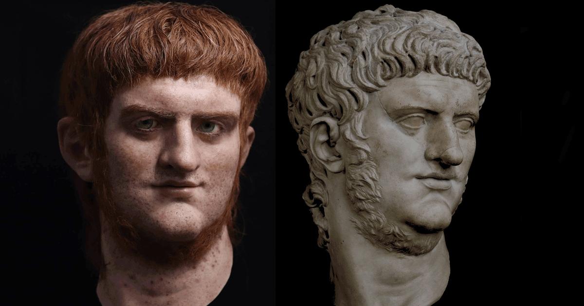 Ecco com'erano i veri volti degli imperatori dell'antica Roma