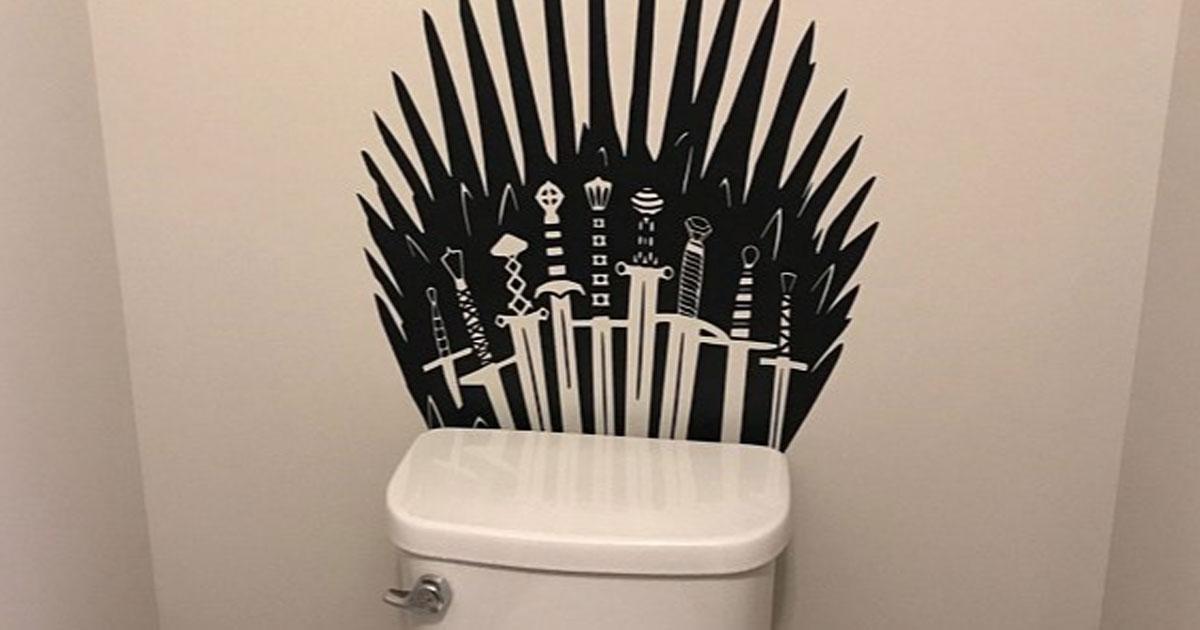 Vuoi trasformare il tuo gabinetto nel Trono di Spade? Ora puoi