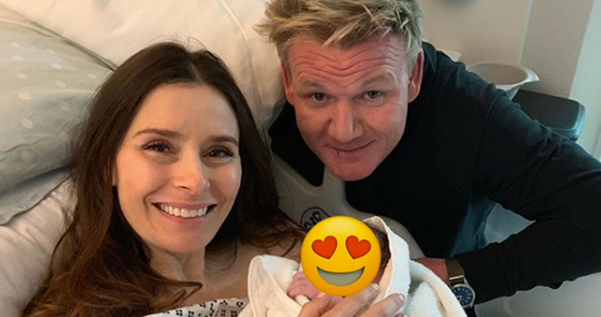 Gordon Ramsay diventa papà per la quinta volta
