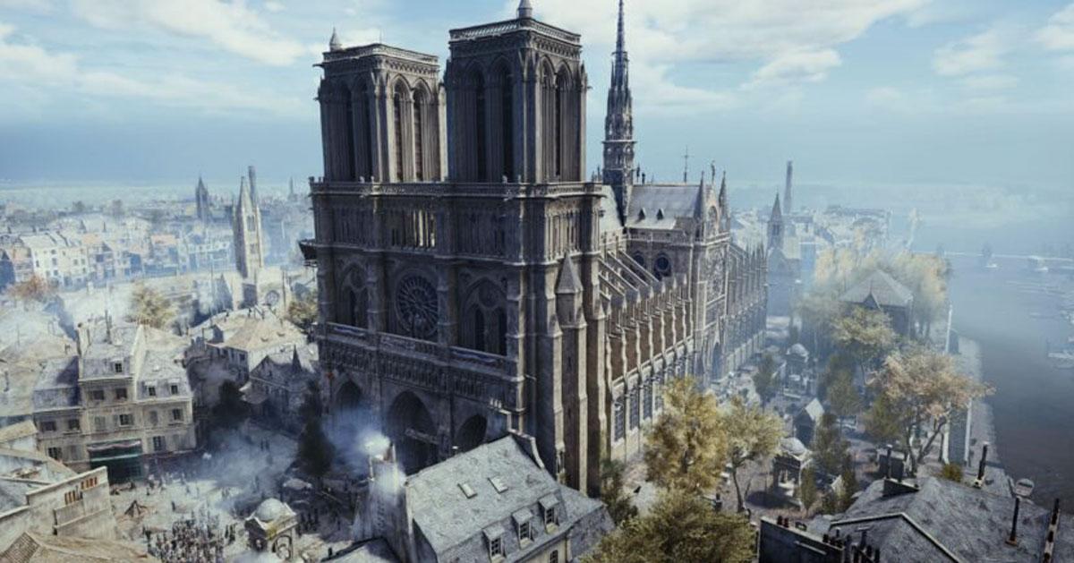 Notre Dame: potrebbero usare il videogioco Assassin's Creed per ricostruirla