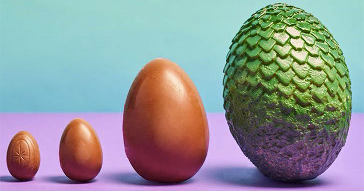 Arrivano anche in Italia le uova di Pasqua di Game Of Thrones