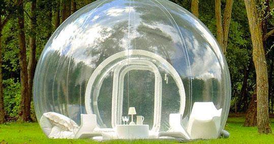 Presto potrete dormire in una bolla in cima alle montagne pugliesi