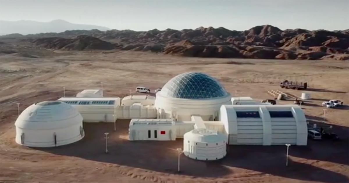 Nel deserto del Gobi hanno creato il prototipo della base marziana del futuro