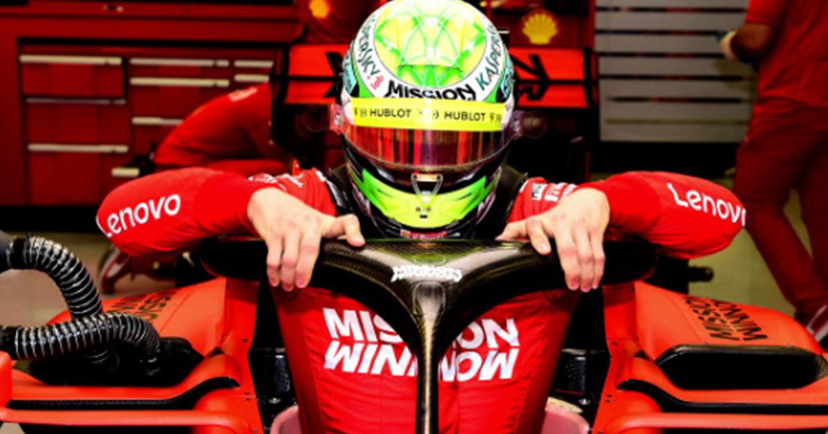 Emozione Ferrari: il video di Mick Schumacher che testa la Rossa conquista il web