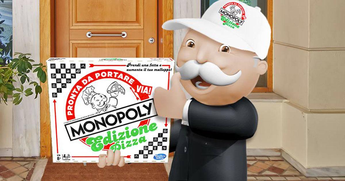 Arriva il Monopoly Pizza: vince chi ha la ricetta più gustosa