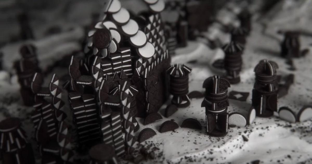 La sigla di Game Of Thrones rifatta con gli Oreo è stupenda
