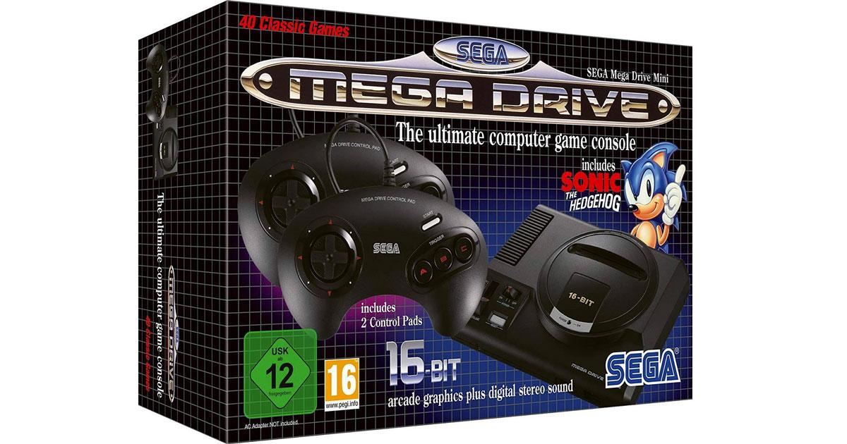 Torna il SEGA Mega Drive Mini con i giochi più belli degli anni '90
