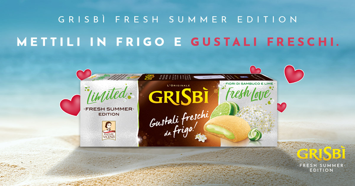 Fresh Love, la Limited Edition 2019 di Grisbì