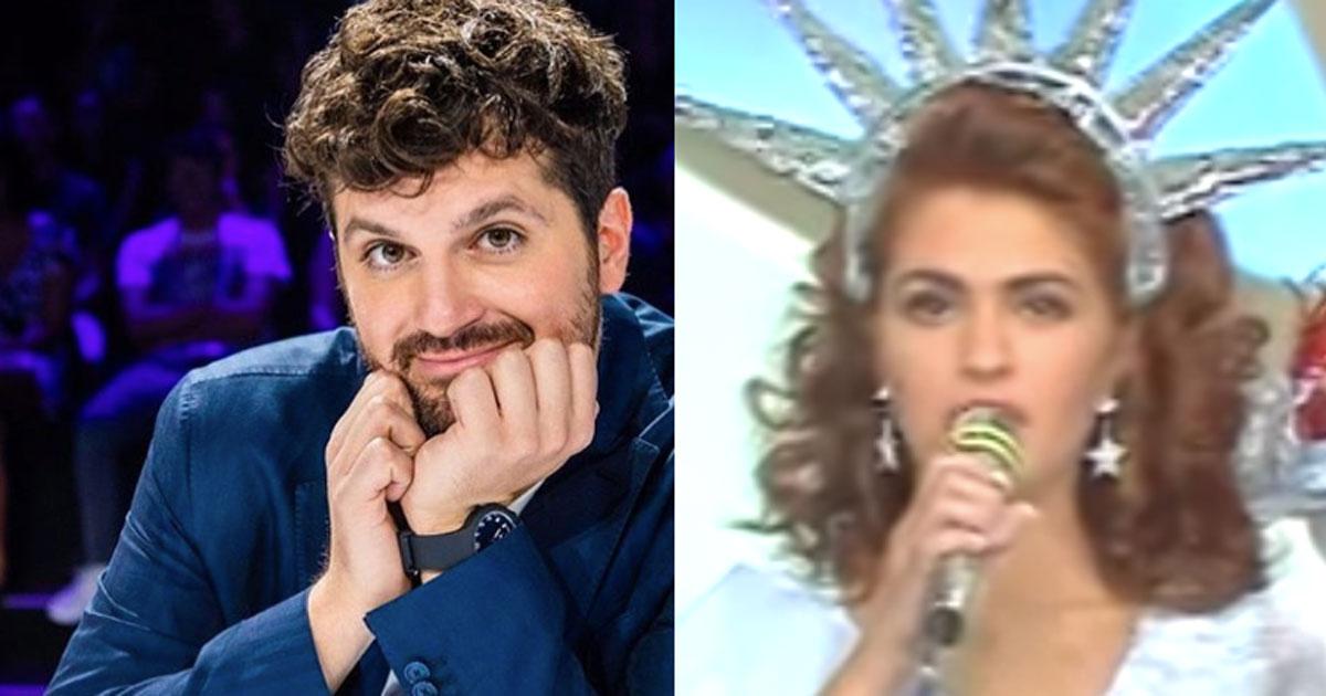 Frank Matano ha ritrovato Sandra Marchegiano, la mitica concorrente di Miss Italia nel Mondo
