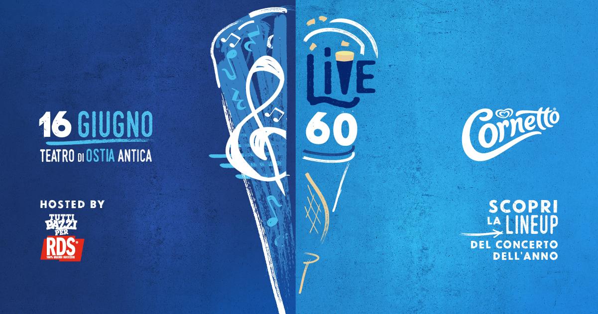 CORNETTO LIVE 60