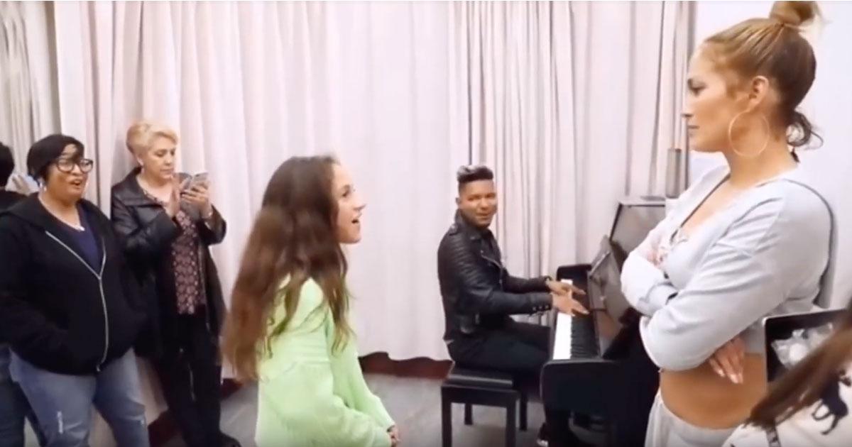 Jennifer Lopez: la figlia canta una canzone di Alicia Keys e lascia tutti senza parole