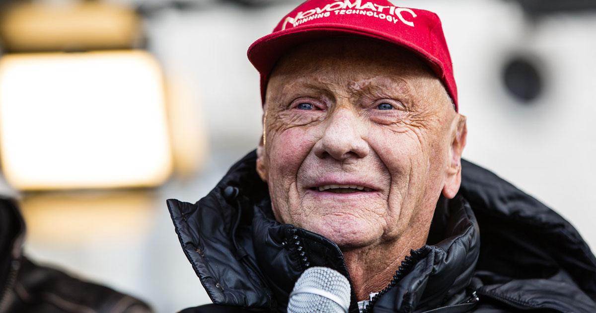 È morto Niki Lauda, il campione della Formula 1