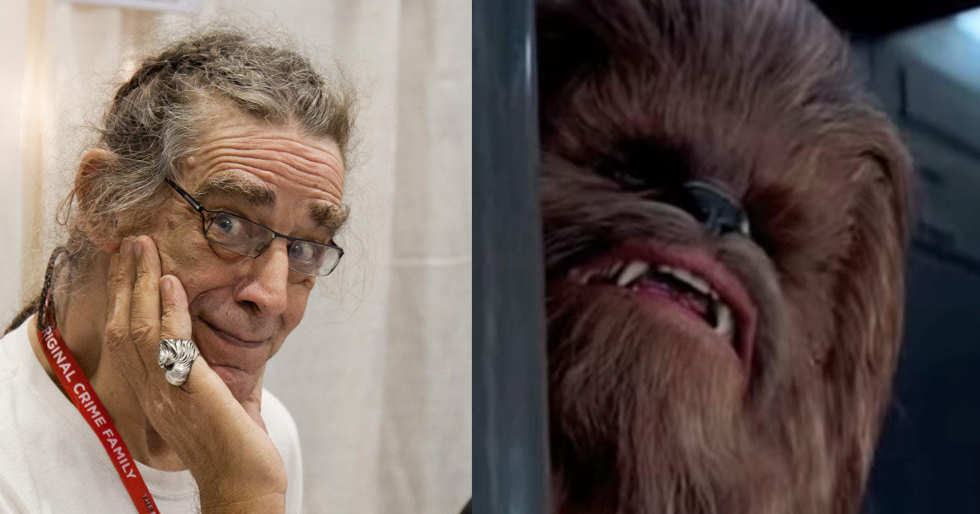 È morto Peter Mayhew, il Chewbecca di 'Star Wars'