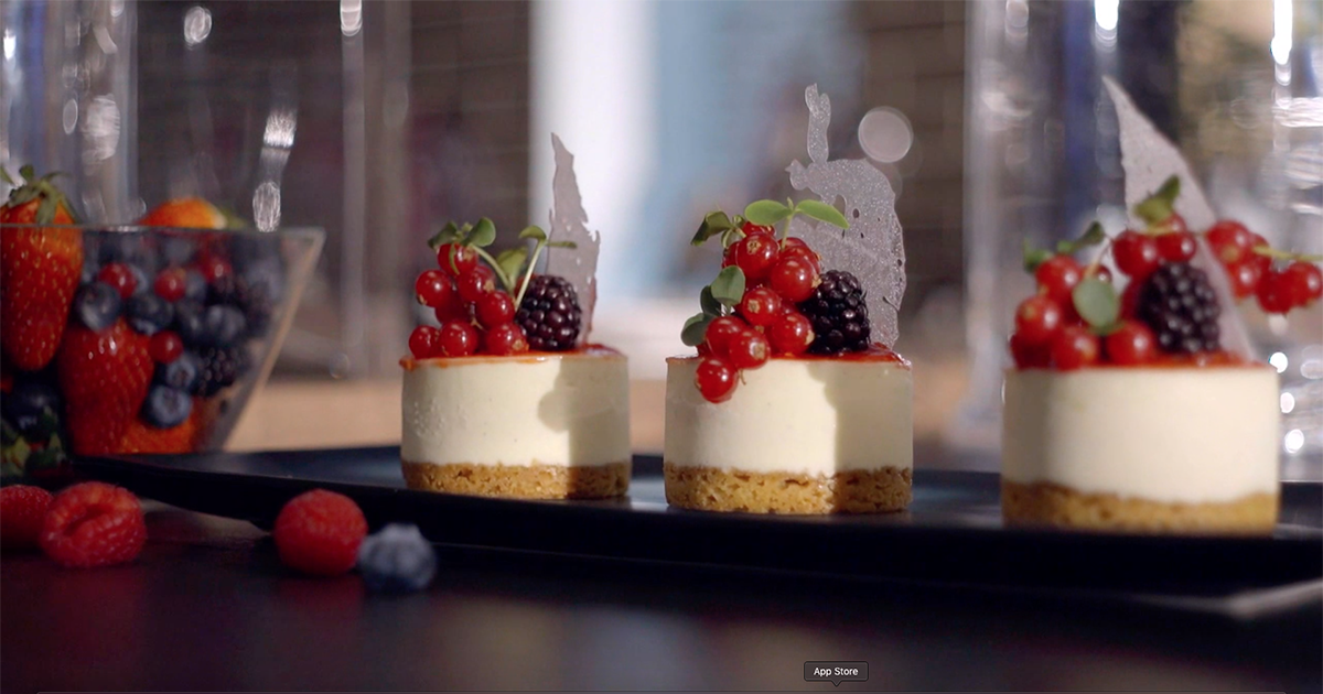 Cheesecake a modo mio - Sal De Riso - Alessandro Borghese Kitchen Sound