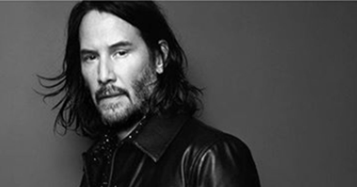 Keanu Reeves splendido per Saint Laurent