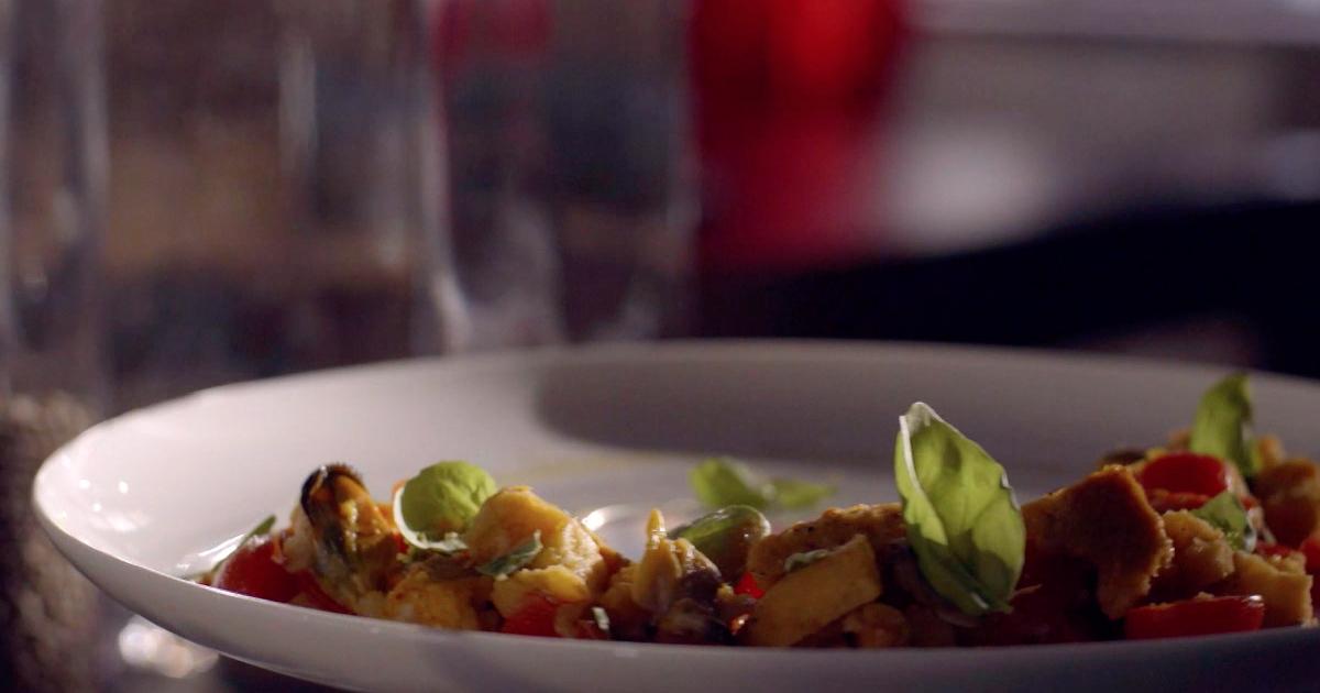 Frisella di mare con paprika dolce - Alessandro Borghese Kitchen Sound