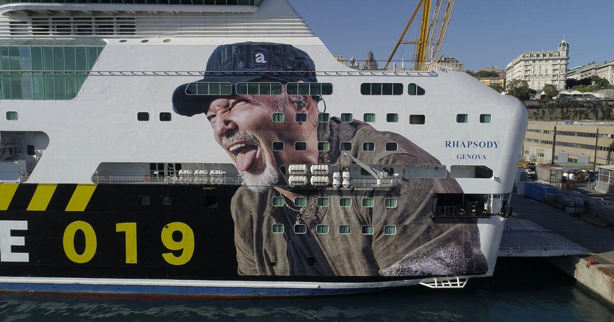 """La nave del """"Vasco Non Stop Live 019"""" è pronta: ecco le foto"""