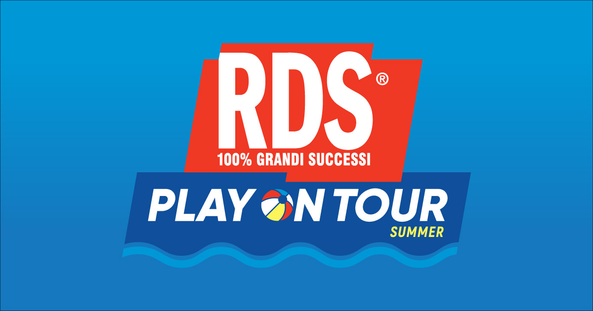 RDS Play on Tour Summer 2019 | RDS 100% Grandi Successi