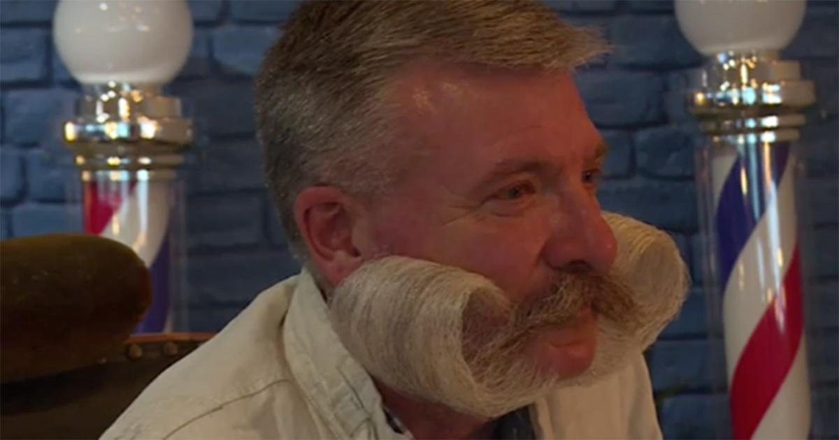 Folta, lunghissima e curata: a Parigi il campionato della barba più bella