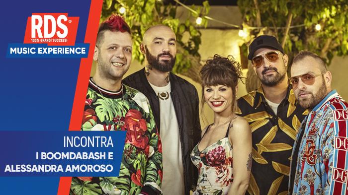 RDS Music Experience Boomdabash e Alessandra Amoroso