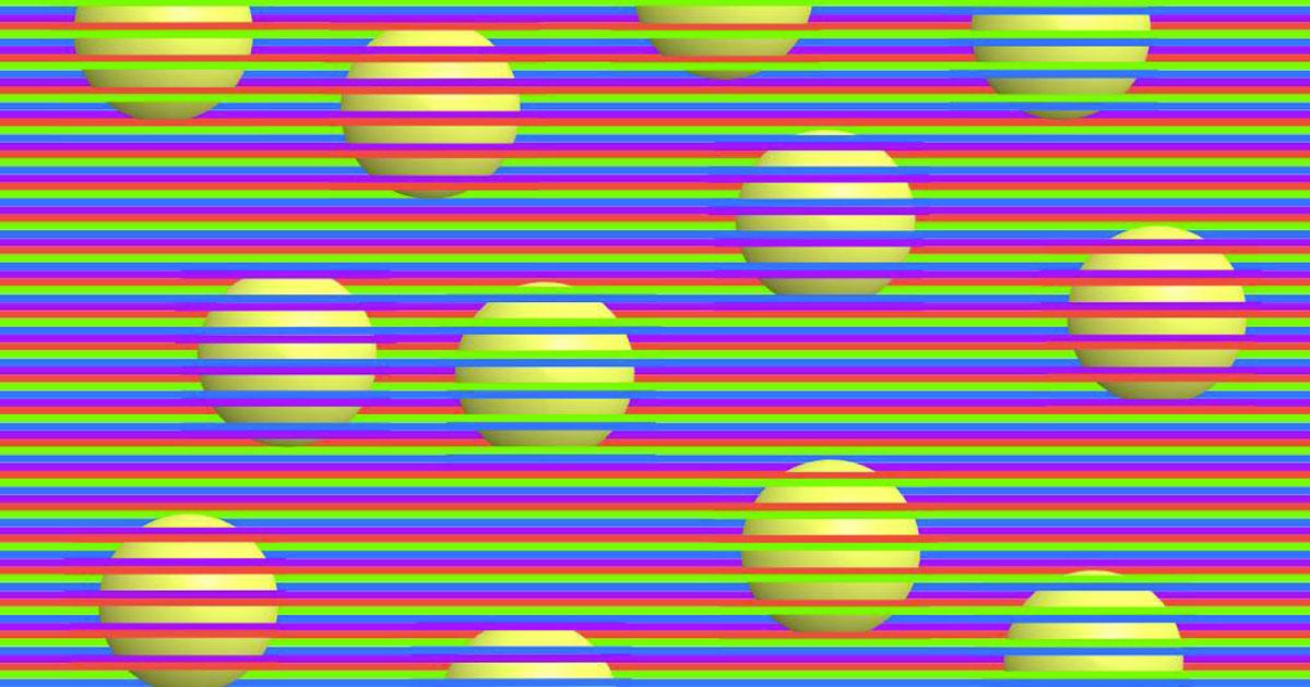 Di che colore sono le palline? L'illusione ottica diventa virale