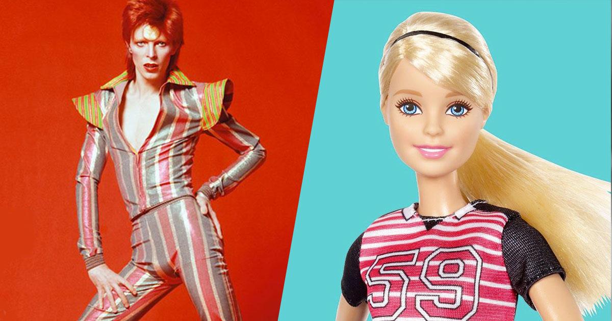 Mattel lancia la Barbie Ziggy in omaggio a David Bowie