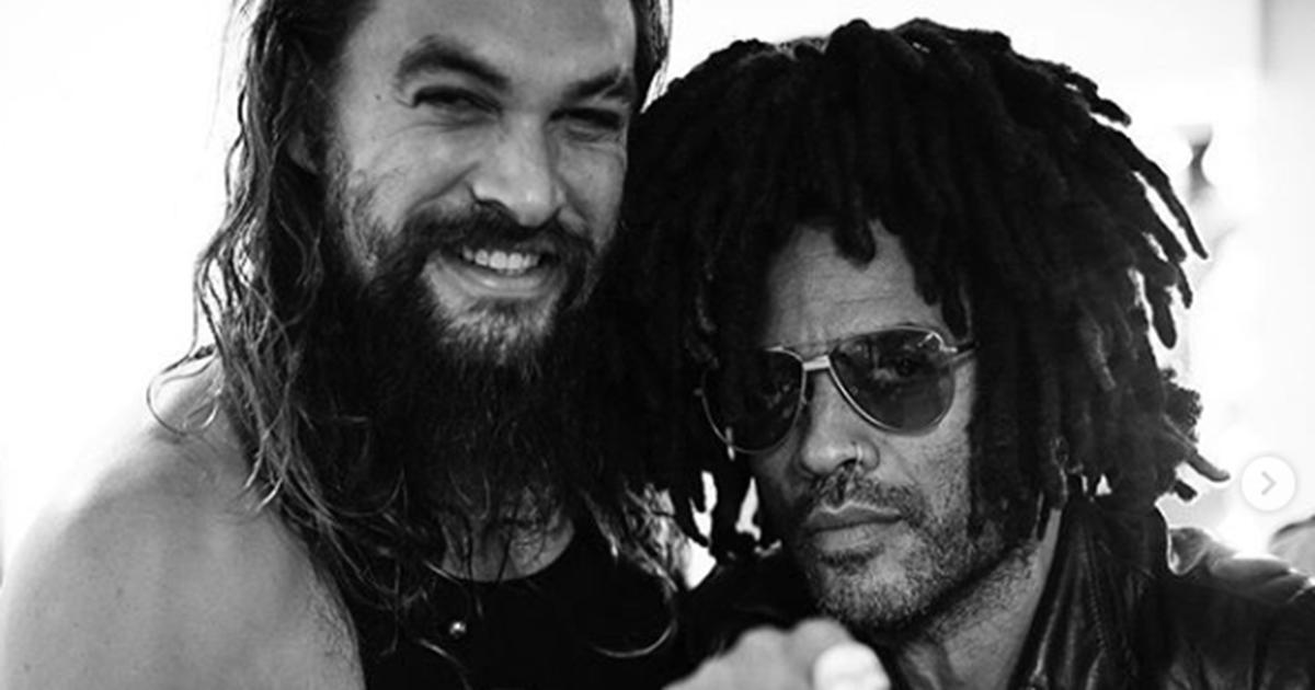 Lenny Kravitz: 'Jason Momoa è come un fratello'