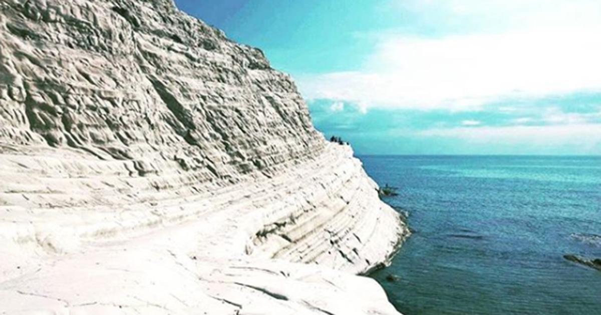Sicilia: la Scala dei Turchi è uno dei luoghi più belli d'Italia