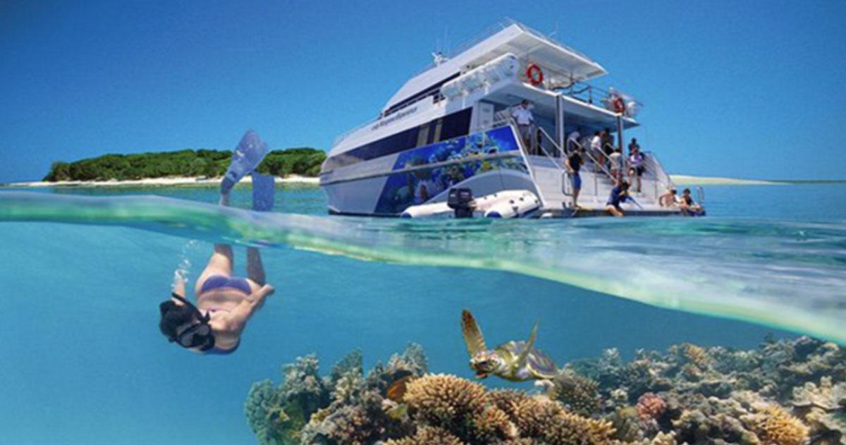 L'hotel sommerso vi permetterà di dormire nella Grande barriera corallina