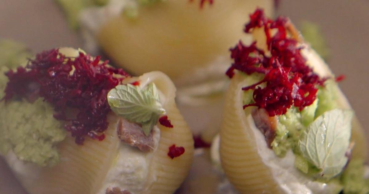 Piselli e rosmarino nel lumacone - Alessandro Borghese Kitchen Sound