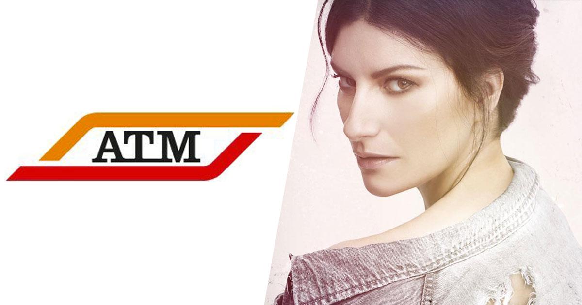 Laura Pausini e l'ATM di Milano: lo scambio di tweet è tutto da ridere