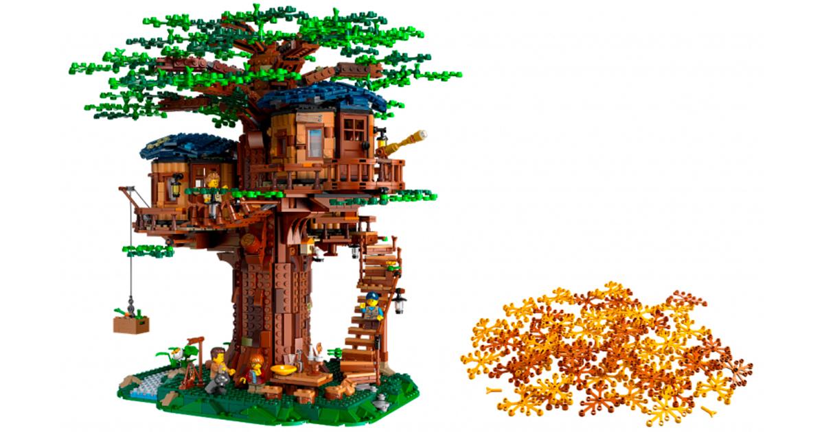 Lego Ideas presenta la casa sull'albero: ed è fantastica!