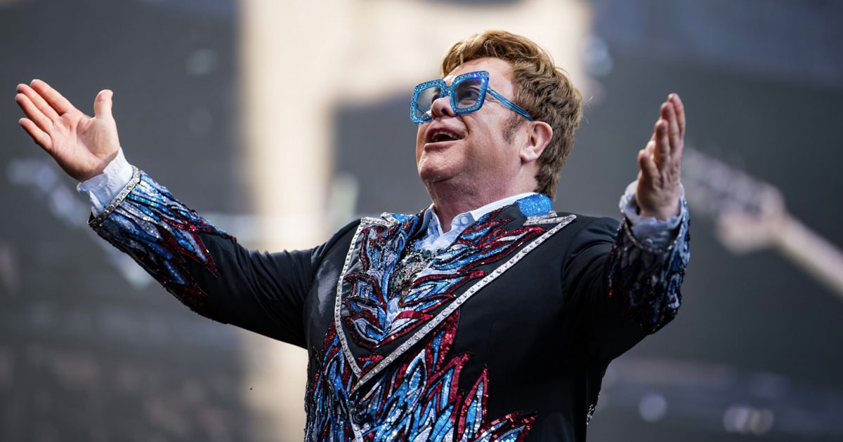 Elton John: ecco i francobolli per i 50 anni di carriera