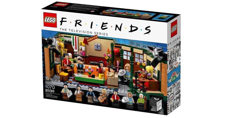 'Friends': ecco la versione Lego del Central Perk per i 25 anni della serie