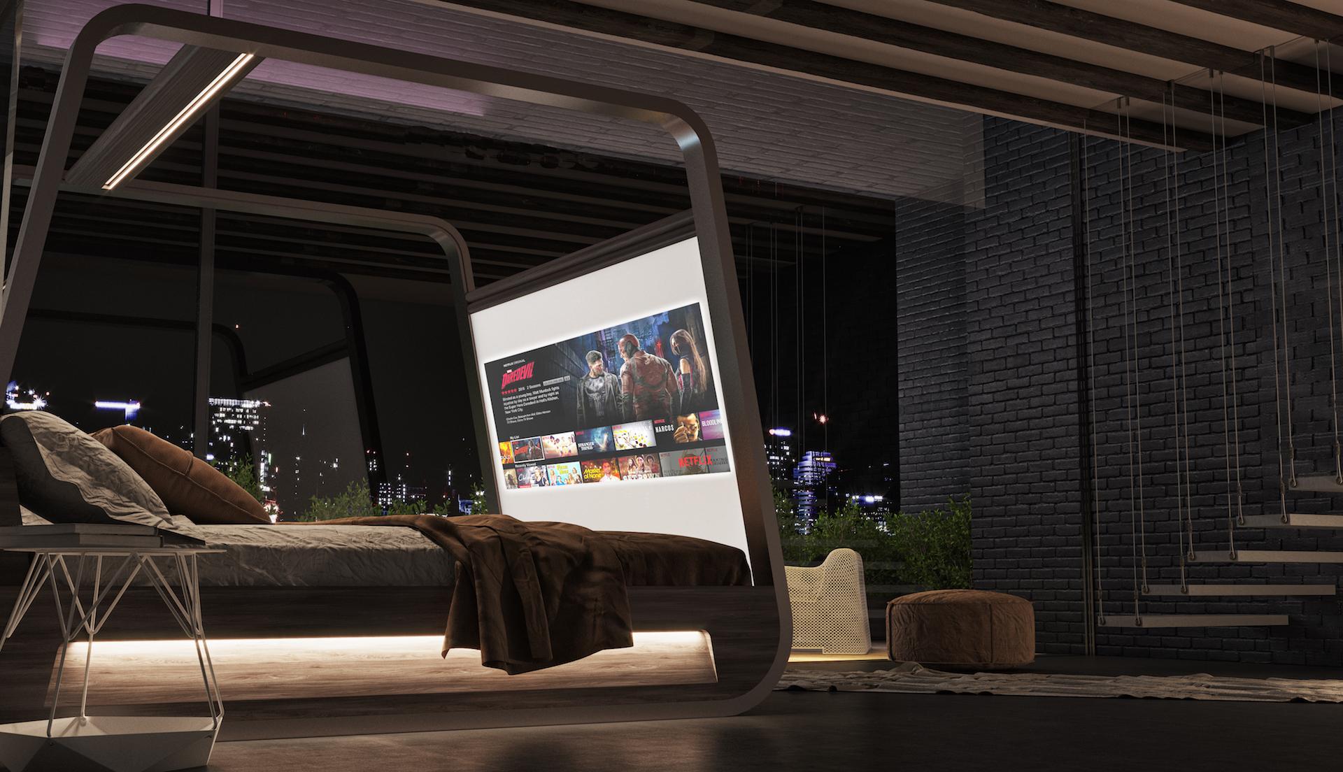 Hi-Bed: il letto da sogno per tutti gli amanti di serie tv