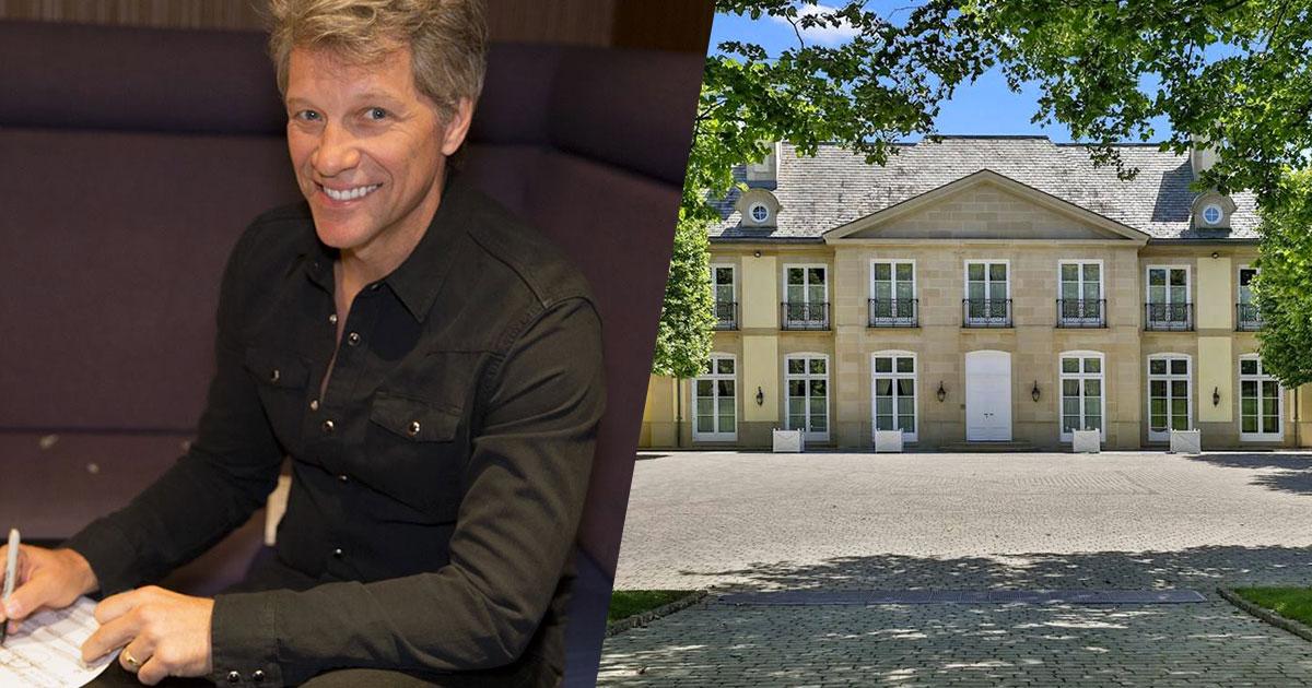 Jon Bon Jovi vende la sua enorme villa nel New Jersey: ecco le foto
