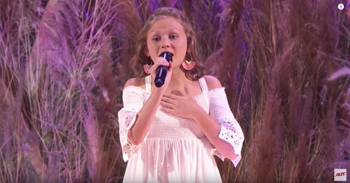 'America's Got Talent': l'esibizione di questa bambina lascia tutti senza parole