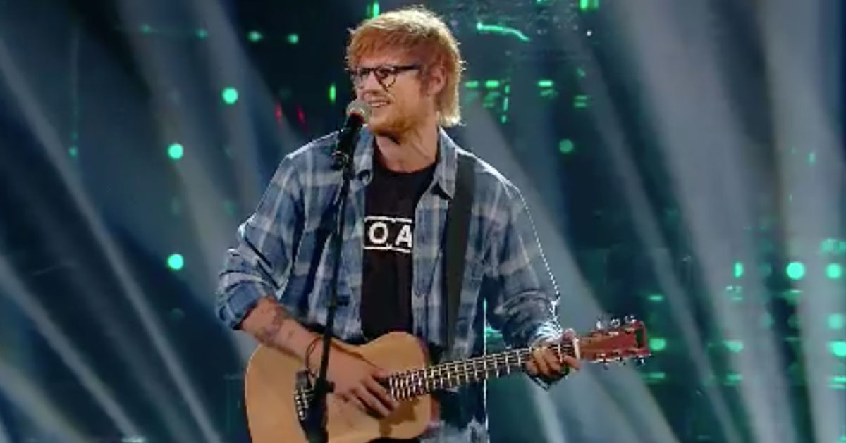 """""""Tale e quale show"""": l'imitazione di Francesco Monte di Ed Sheeran è da standing ovation"""