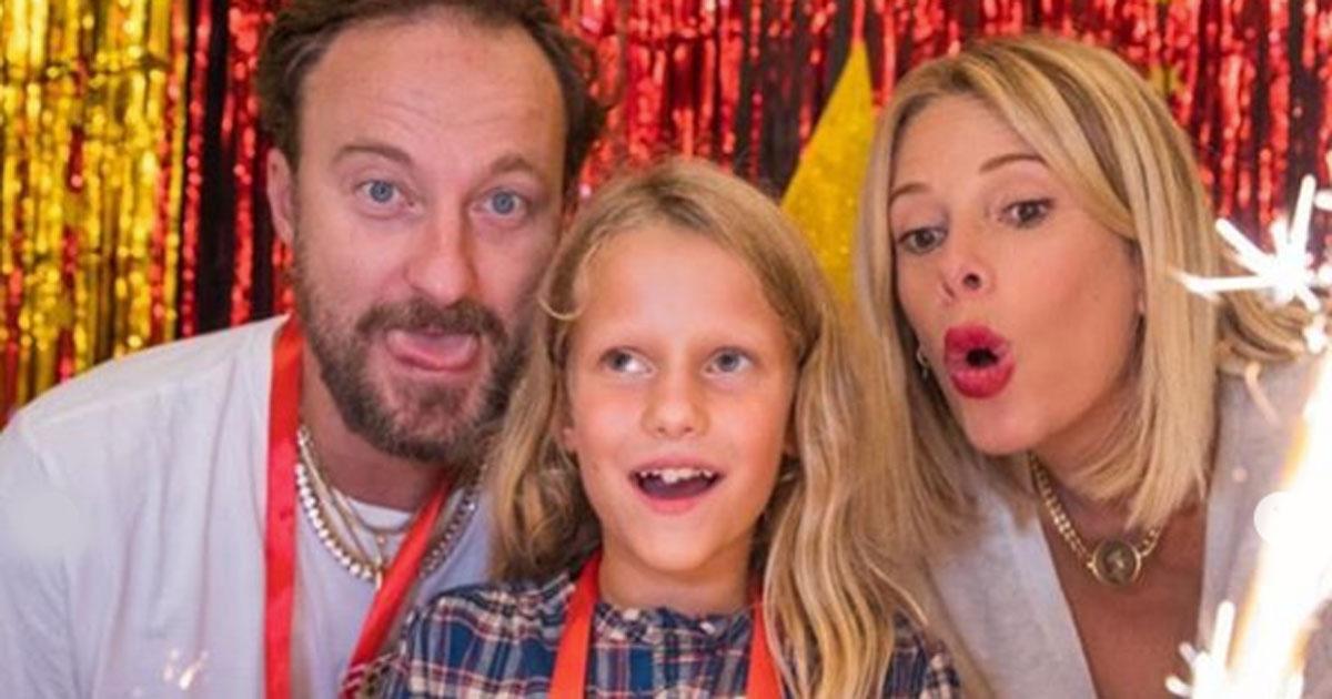 Alessia Marcuzzi e Francesco Facchinetti di nuovo insieme: le foto della festa della figlia Mia