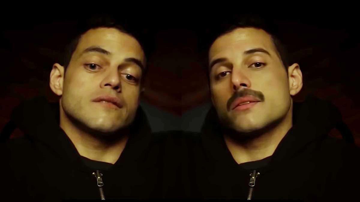 In questo video Freddie Mercury prende il posto di Rami Malek in 'Mr. Robot'